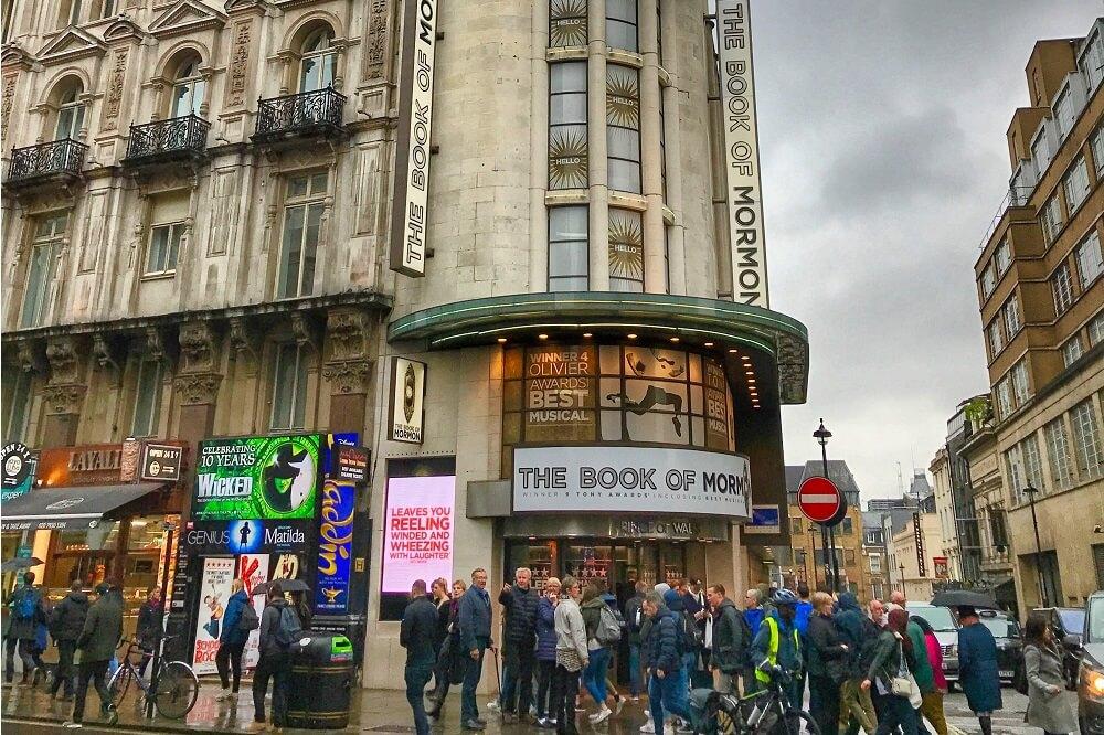 כרטיסים להצגות בלונדון, ווסט אנד, למחזות זמר והופעות