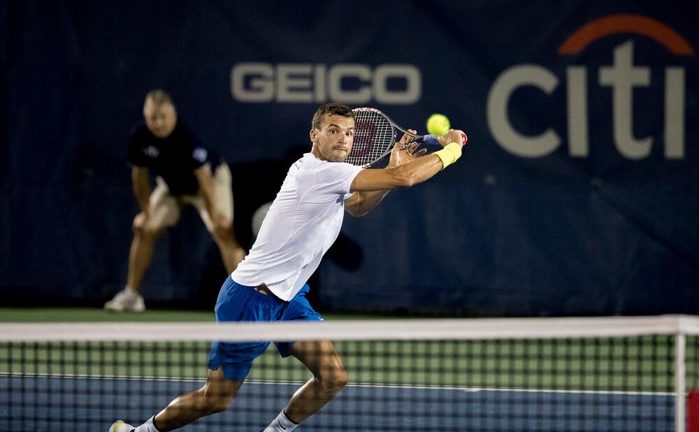 גריגור דמיטרי, זוכה טורניר הטניס בלונדון ב-2017.
