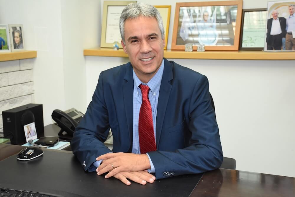אבי גנון, מנכ״ל אורט העולמי שמטהו המרכזי יושב בלונדון