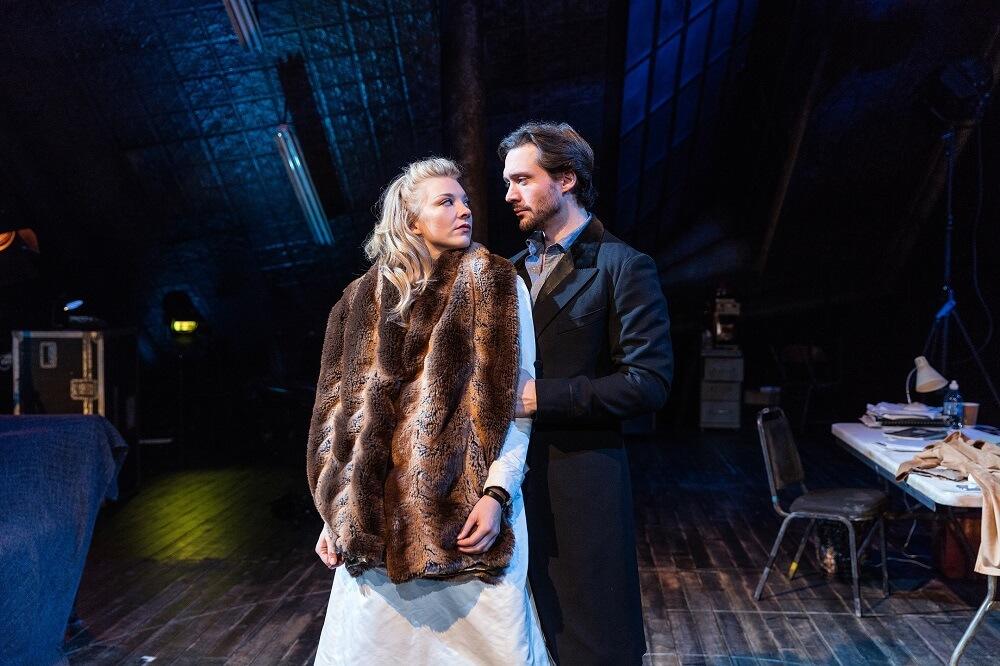 נטלי דורמר בהצגה ונוס בפרווה בווסט-אנד לונדון