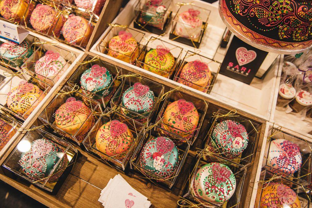 עוגיות סארי בפסטיבל הטעם של לונדון. הצעות לסופשבוע בלונדון. מה לעשות השבוע בלונדון