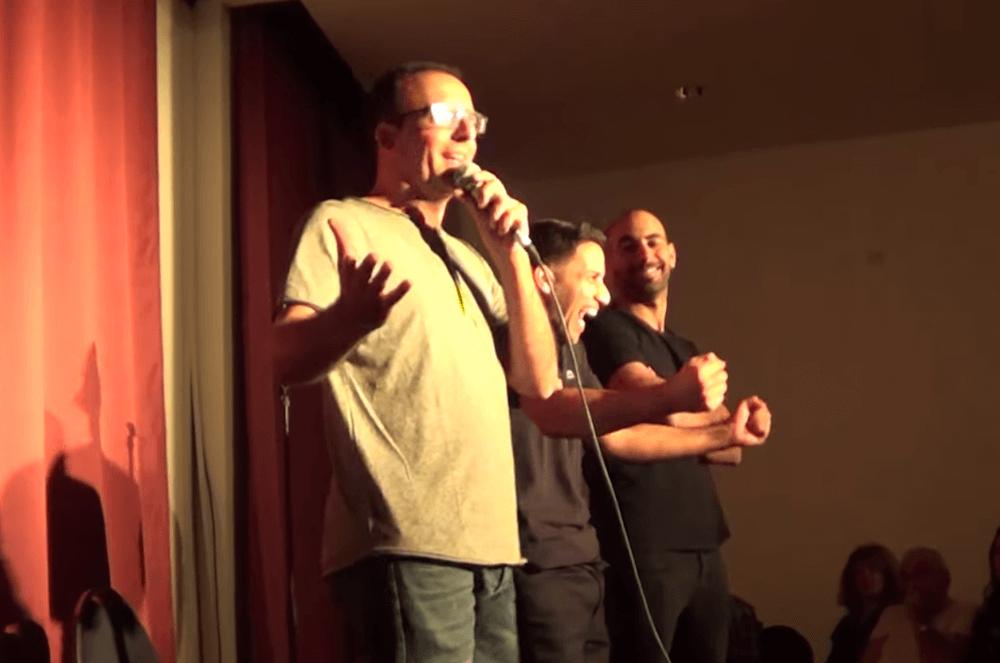 הופעה של סטנד-אפ קומדי בלונדון שחר חסון, יוחאי ספונדר ויוסי טרבלוס כבשו את לונדון