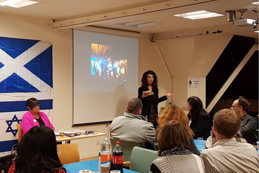 האירוע הראשון של הישראלים בסקוטלנד