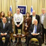 פריצת דרך: הנשיא ריבלין נפגש עם מנהיגי הקהילות הישראליות בעולם