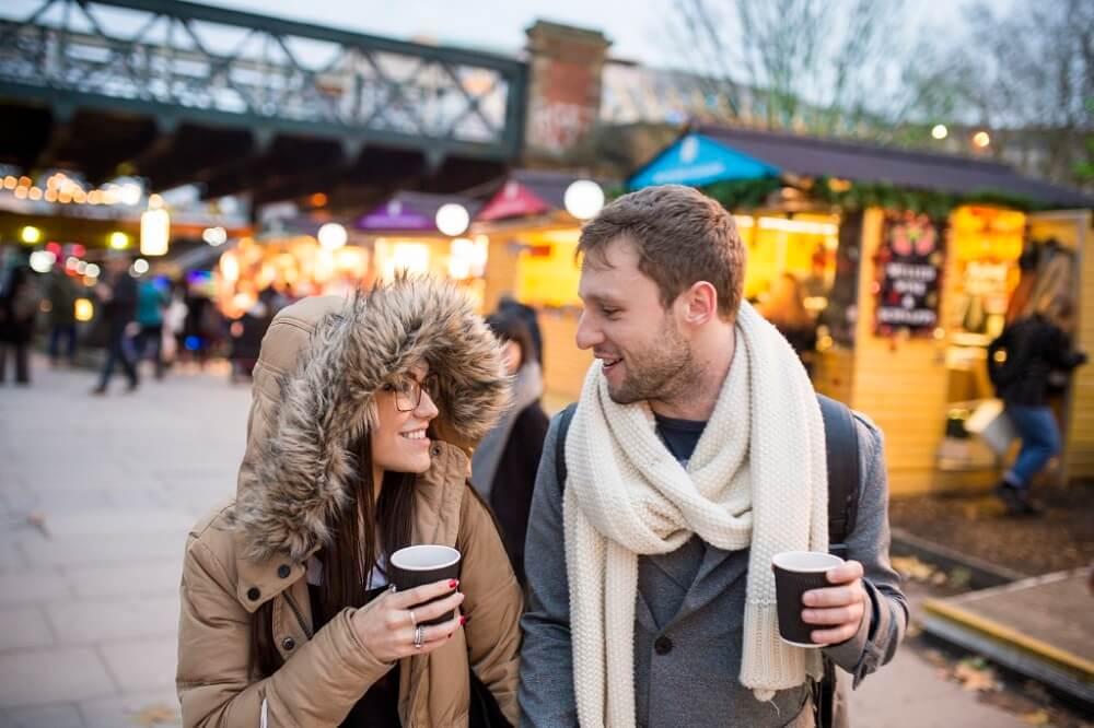 זוג אוהבים בלונדון