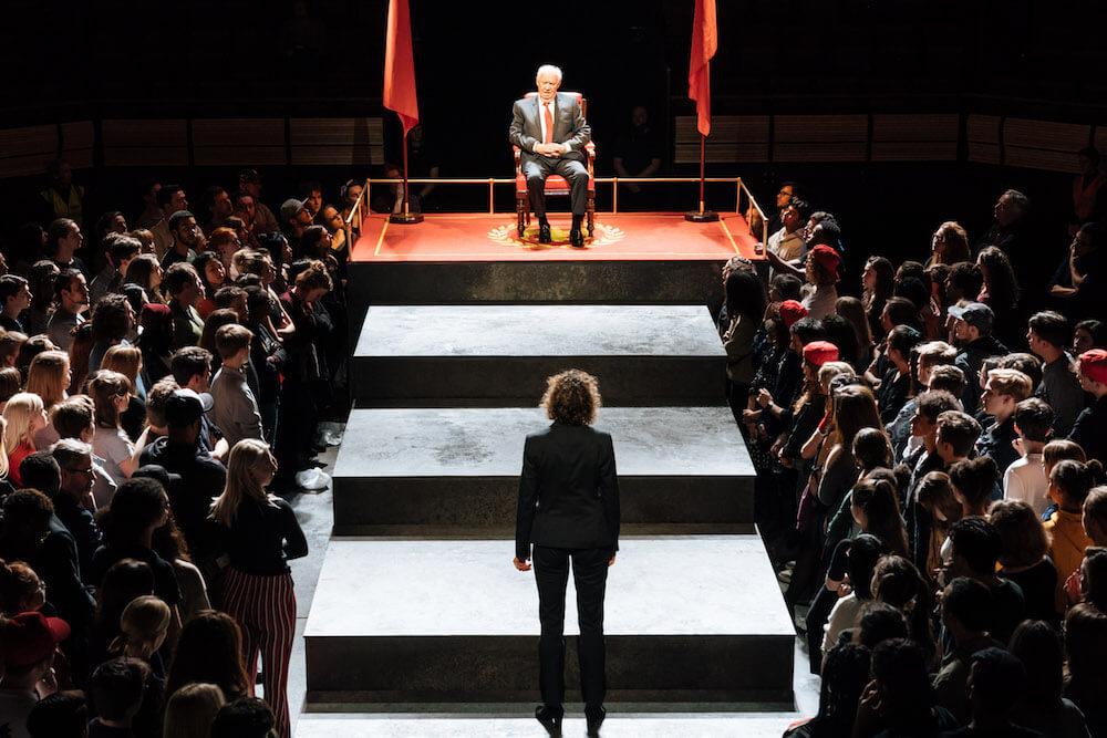המחזה יוליוס קיסר, הצגה של שייקספיר בלונדון, תיאטרון לונדון