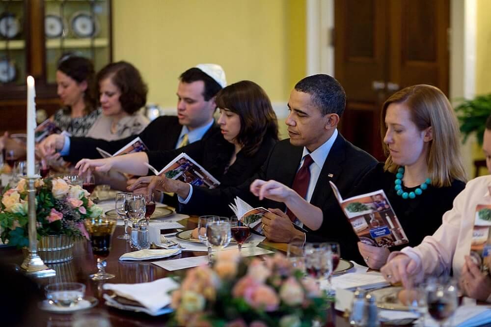 גם הנשיא לשעבר אובמה חגג פסח. איפה אתם בחג פסח בלונדון