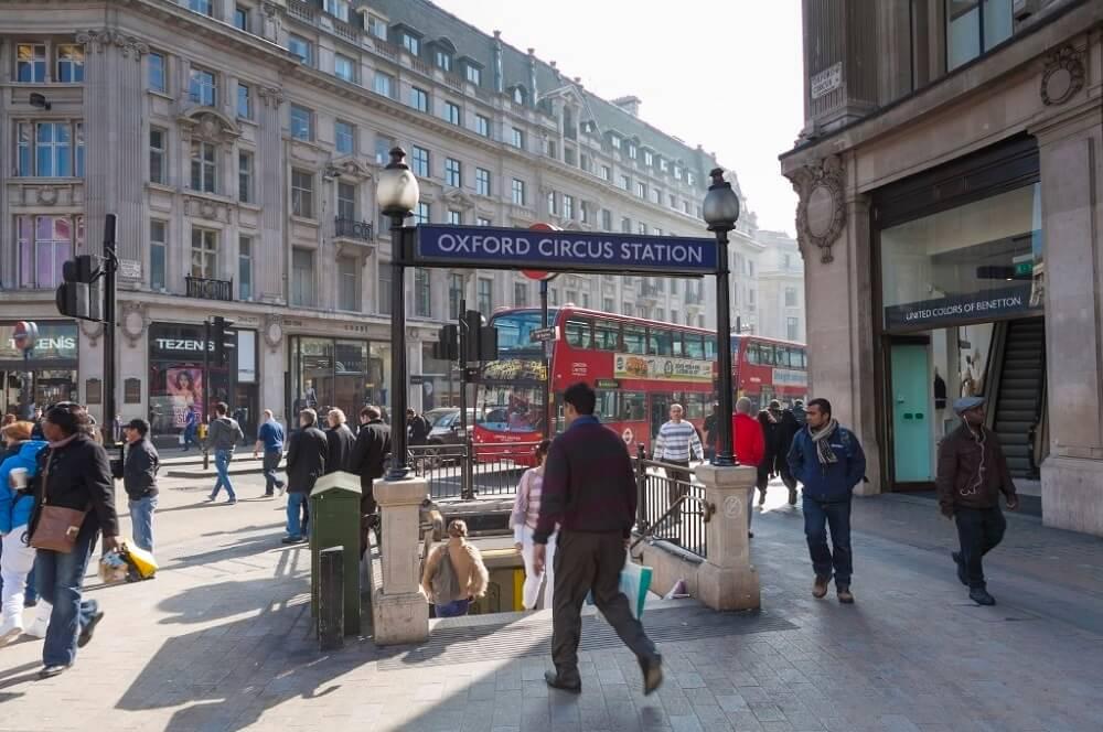 המקום הכי מפחיד בלונדון? אוקספורד סטריט.
