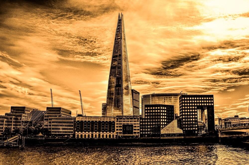המקומות הכי מפחידים בלונדון - השארד
