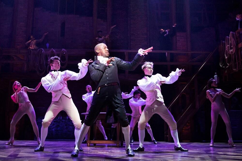 מחזמר בלונדון - ביקורת על המילטון. קראו עוד ביקורות על הצגות ומחזות זמר בלונדון באתר עלונדון