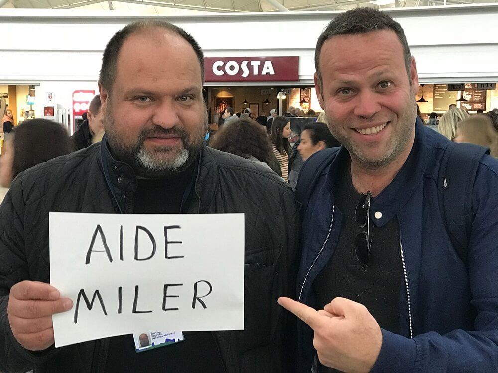 הופעה של אדיר מילר בלונדון