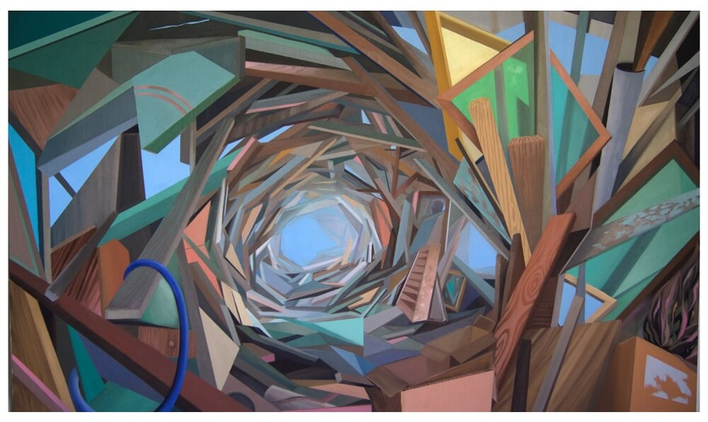 תערוכה בלונדון - אמנות ישראלית בשוק קמדן - עבודה של גיא שוהם