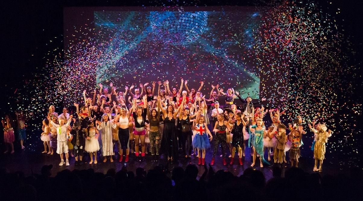 מופע מחול בלונדון - אירוע לקהילה הישראלית בבריטניה