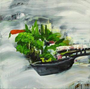תערוכה בלונדון - אמנות ישראלית בשוק קמדן - Landscape. עבודה של נוגה שץ