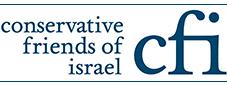 """לוגו של ארגון """"ידידי ישראל במפלגה השמרנית"""":"""