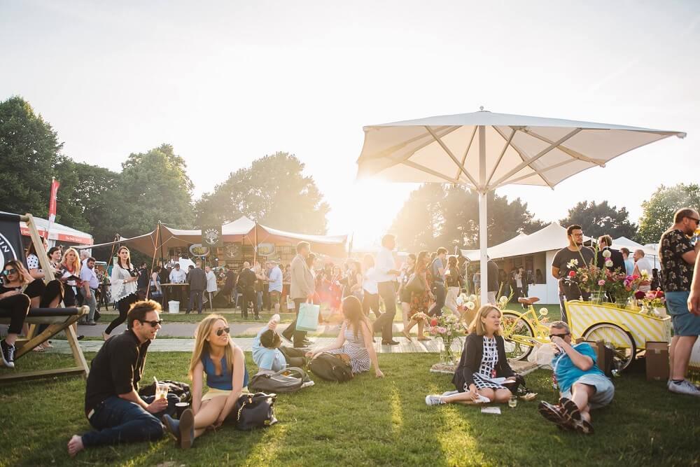 מה לעשות בלונדון בחודש יוני פסטיבל האוכל בפארק ריג'נט