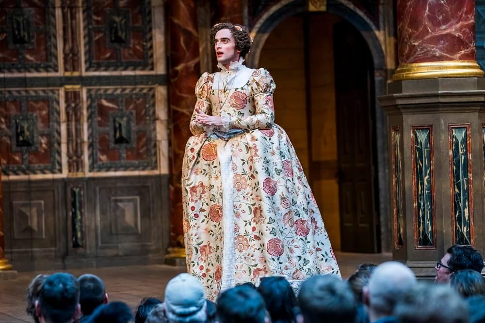 הצגות בלונדון - ביקורת על המחזות המלט וכטוב בעיניכם בשייקספיר גלוב