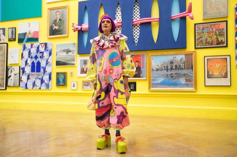 תערוכה בלונדון - רויאל אקדמי אוף ארטס - האקדמיה המלכותית לאומנויות גרייסון פרי