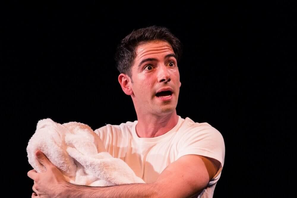 הצגה בלונדון: נוק נוק - ניב פטל מקווה לחזור ללונדון בעתיד הקרוב.