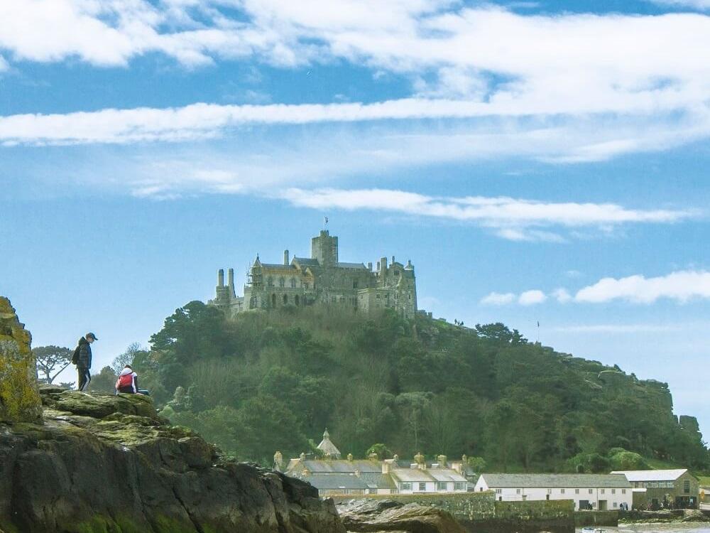 טירות בבריטניה - טיול באנגליה - האח הבריטי של מון-סן-מישל. הר סנט מייקל. צילום: סיוון שפירא