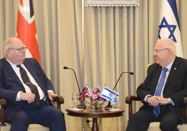 לורד אריק פיקלס, ידידי ישראל במפלגה השמרנית, הפרלמנט הבריטי, בית הלורדים, CFI, ישראל בריטניה, פוליטיקה בריטית