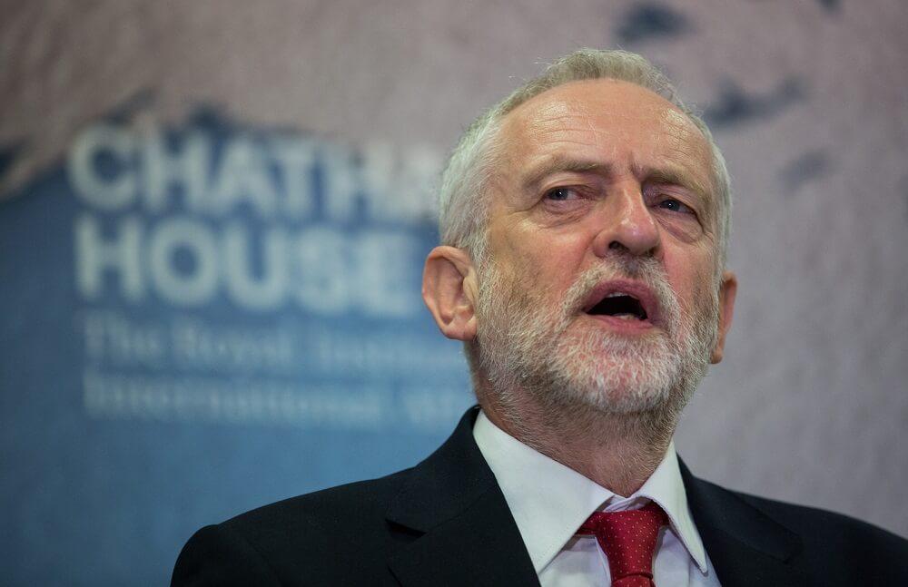 אנטישמיות בבריטניה לייבור - חושב שזה לא אנטישמי לומר שקיומה של מדינת ישראל הוא מפעל גזעני? ג'רמי קורבין.