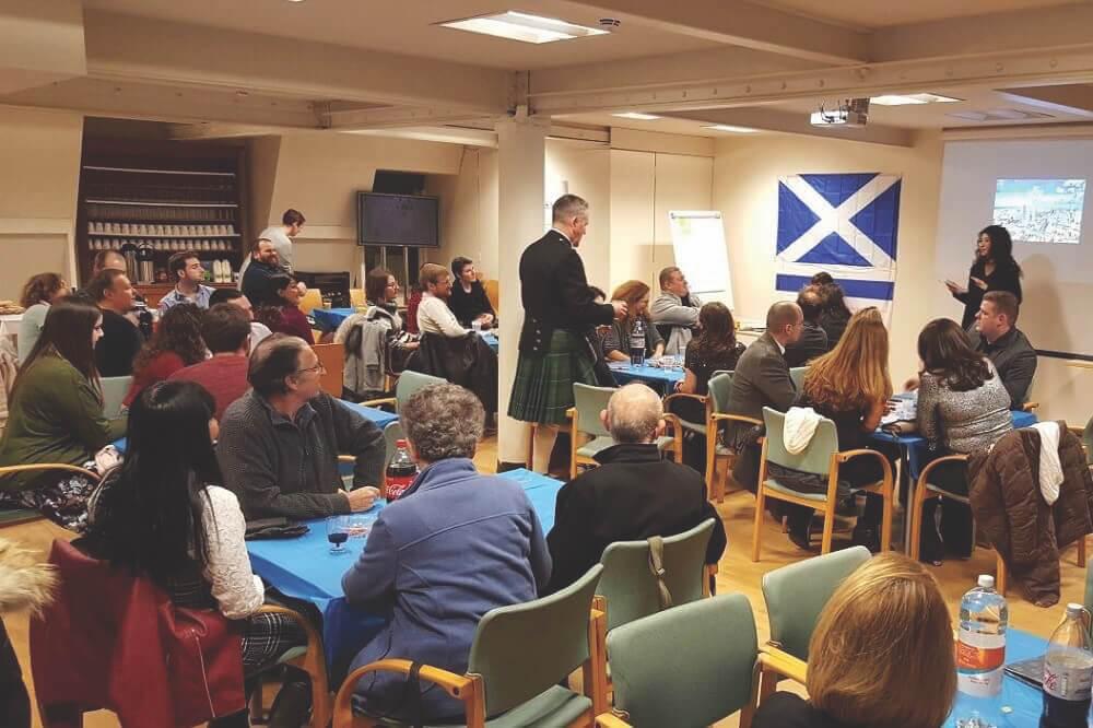 אירוע ראשון לישראלים בסקוטלנד