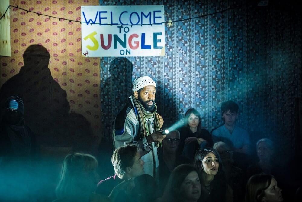 """הצגה בלונדון - עקב הצלחה מסחררת המשיך לווסט־אנד בתיאטרון פלייהאוס. """"הג'ונגל"""". צילום: Marc Brenner"""