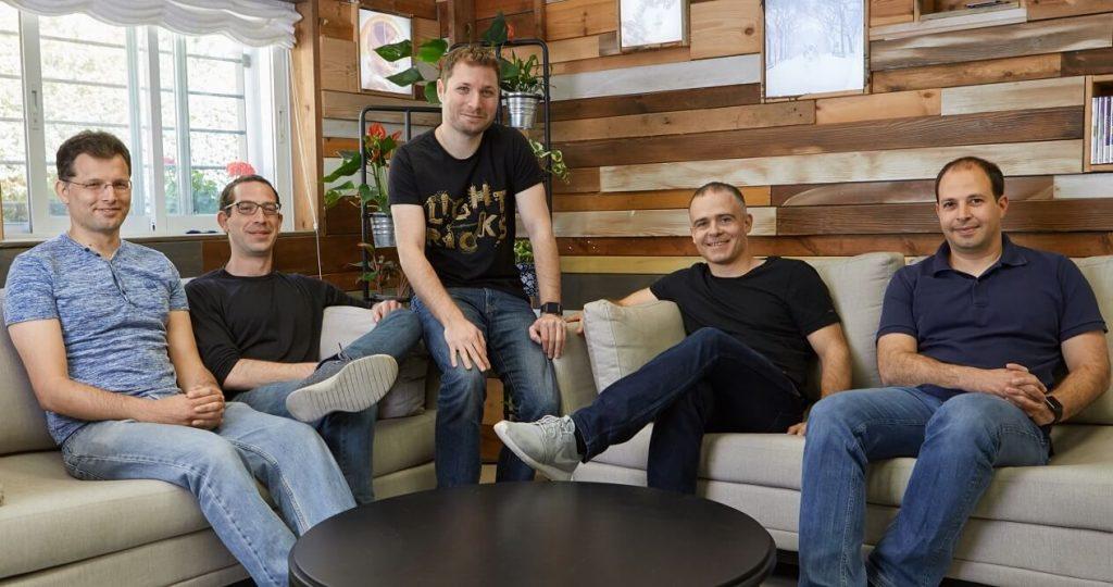 אפל סטור החמיאה. חמשת המייסדים של לייטריקס. צילום: אופיר אבה