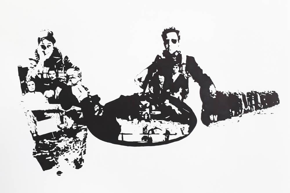 אומנות אמנות בלונדון, אומנים ישראלים בלונדון, בועז טורפשטיין