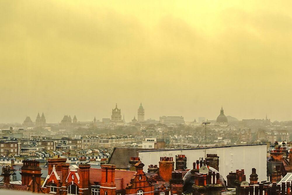 זיהום אוויר בלונדון