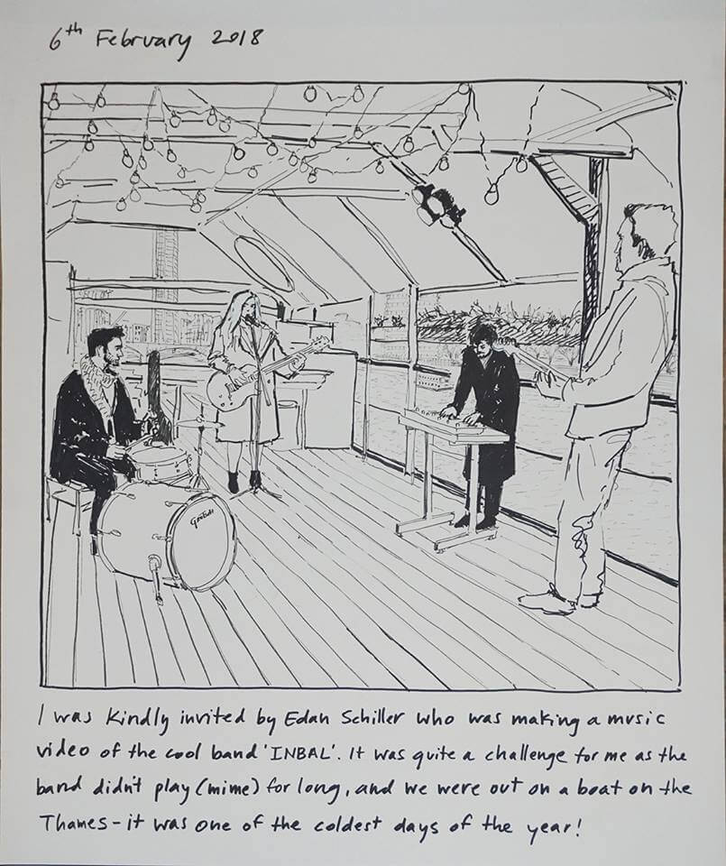 מה לעשות בלונדון, תערוכה בלונדון, גבריאלה שוץ