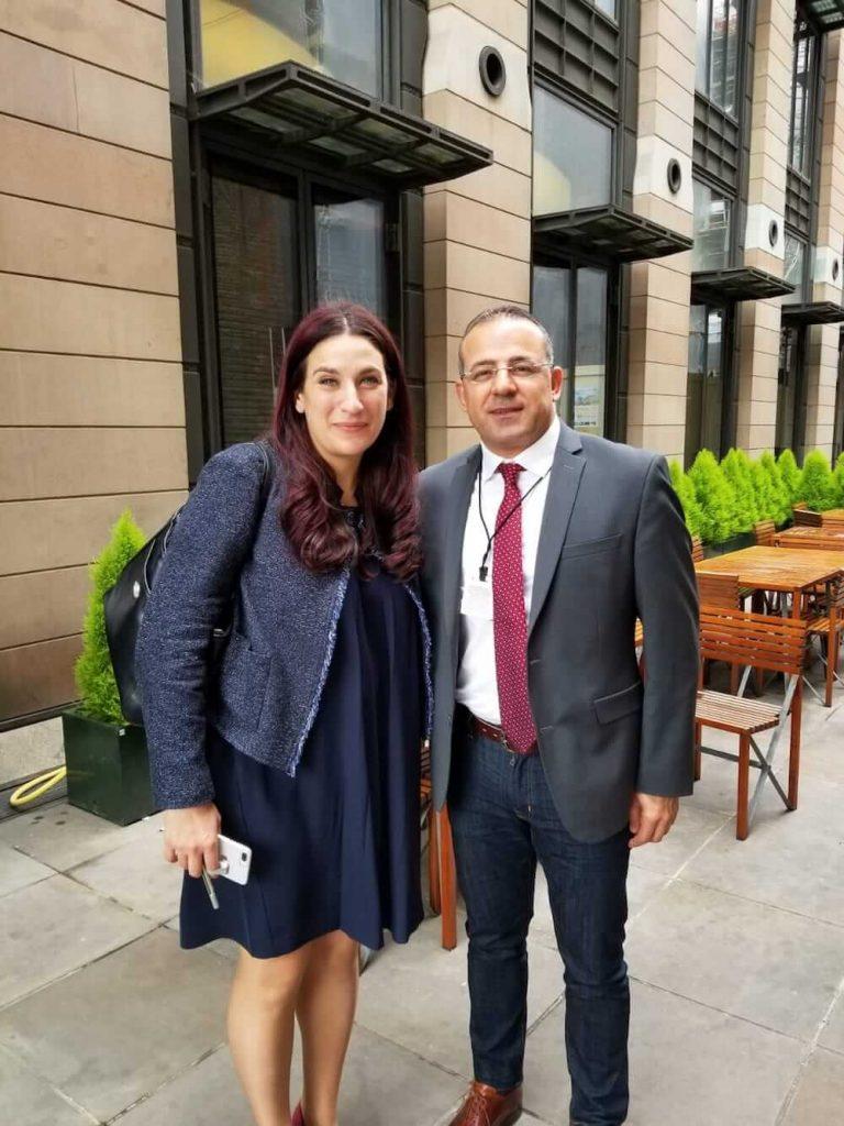 """ד""""ר אמיר ח'ניפס בלונדון"""