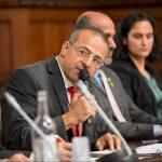הפרלמנט הבריטי אירח את נציג הדרוזים בישראל