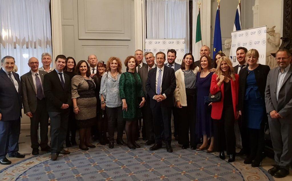 100 להרצוג באירלנד, משרד החוץ האירי
