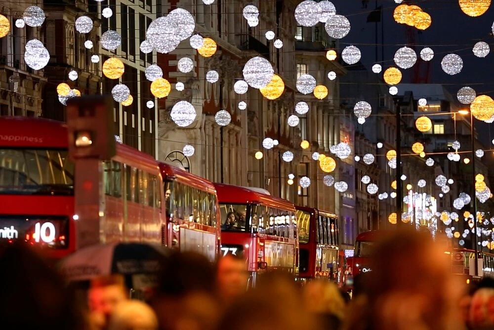 מה לעשות בלונדון, נובמבר 2018, הדלקת האורות באוקספורד סטריט