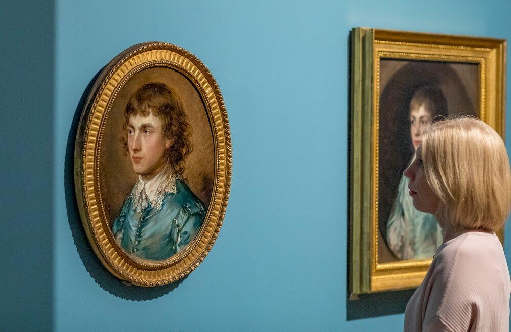 תערוכה בלונדון, תומאס גיינסבורו, נשיונל פורטרט גלרי, הגלרייה הלאומית לדיוקנאות, לונדון, גלריית הדיוקנאות הלאומית
