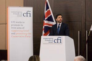 סטיבן סטיב קראב באירוע בלונדון של ידידי ישראל במפלגה השמרנית בבריטניה
