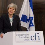 המסר המיוחד של תרזה מיי לידידי ישראל במפלגה השמרנית בבריטניה