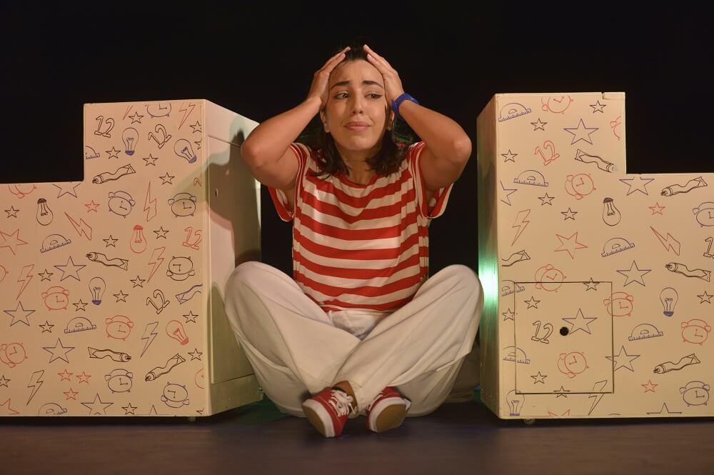 תיאטרון אורנה פורת בלונדון, הצגה ישראלית בלונדון, אש בראש