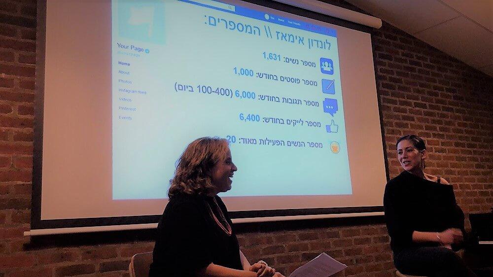 שיחה עם ויוי בן-דוד בלונדון, בערב הרצאות לקהילה הישראלית בבריטניה