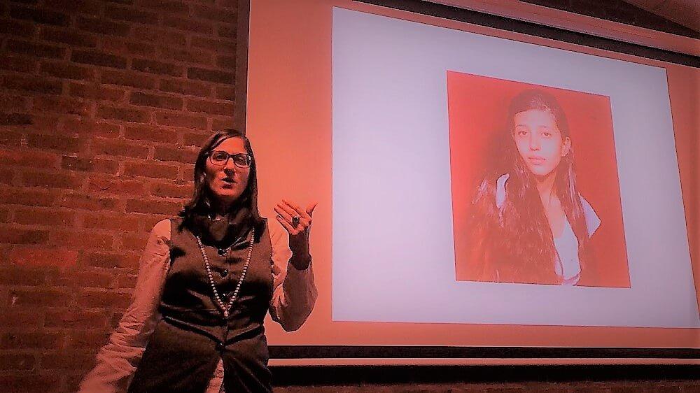 הרצאה של מיכל עורקבי בלונדון, בערב הרצאות לקהילה הישראלית בבריטניה