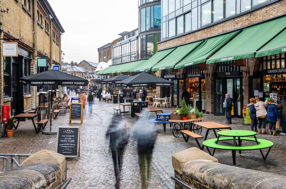 שוק קמדן, קינוחים מושחתים בלונדון