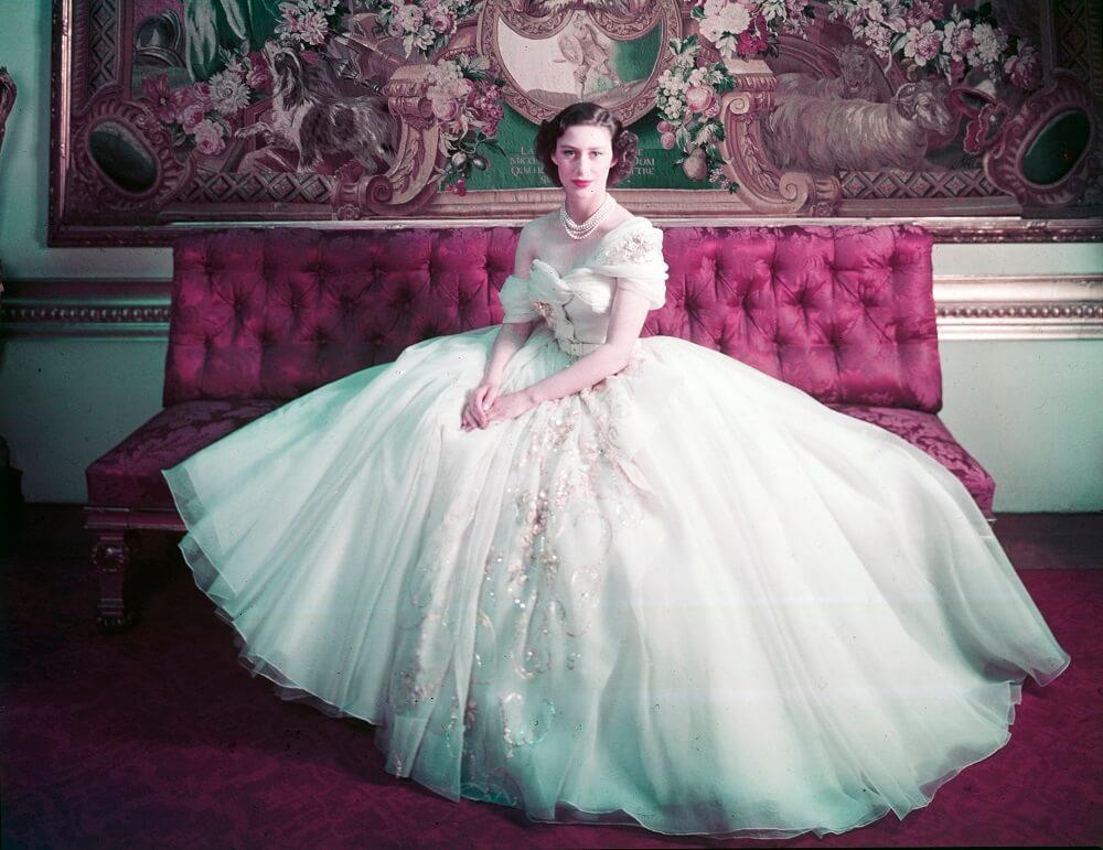 תערוכה על כריסטיאן דיור בלונדון, מוזיאון ויקטוריה ואלברט, השמלה של הנסיכה מרגרטתערוכה על כריסטיאן דיור בלונדון, מוזיאון ויקטוריה ואלברט, השמלה של הנסיכה מרגרט