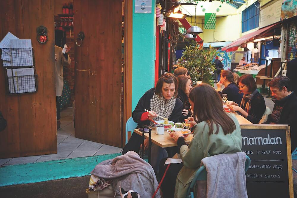 בריקסטון וילג׳ - מסעדת מאמאלאן