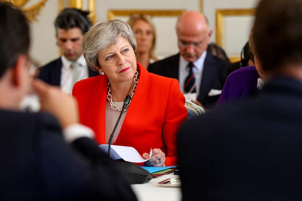 תרזה מיי - נאום ההתפטרות של ראשת ממשלת בריטניה