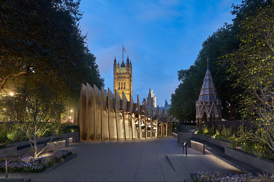 אנדרטה לזכר השואה בלונדון, בריטניה