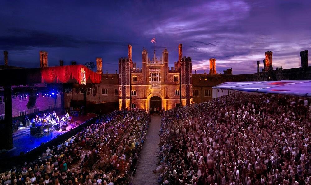 פסטיבל מוזיקה בארמון האמפטון קורט, לונדון