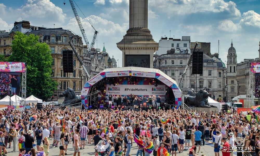 מצעד הגאווה בלונדון יולי
