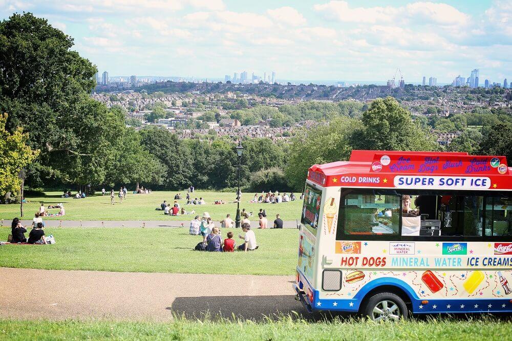 פארק אלכסנדרה - אלי פאלי - לונדון בקיץ